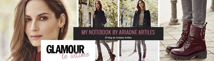 Ariadne Artiles y botines Military trend ALPE